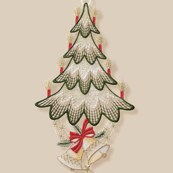 Kerst Raamdecoratie - 12 - Kerstboom