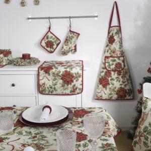 Tafelkleed - luxe gobelin - Christmas Happiness