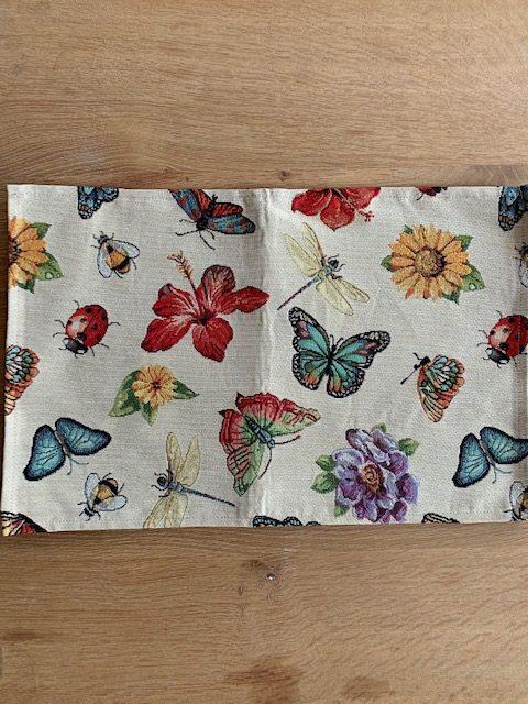vlinder / zonnebloem
