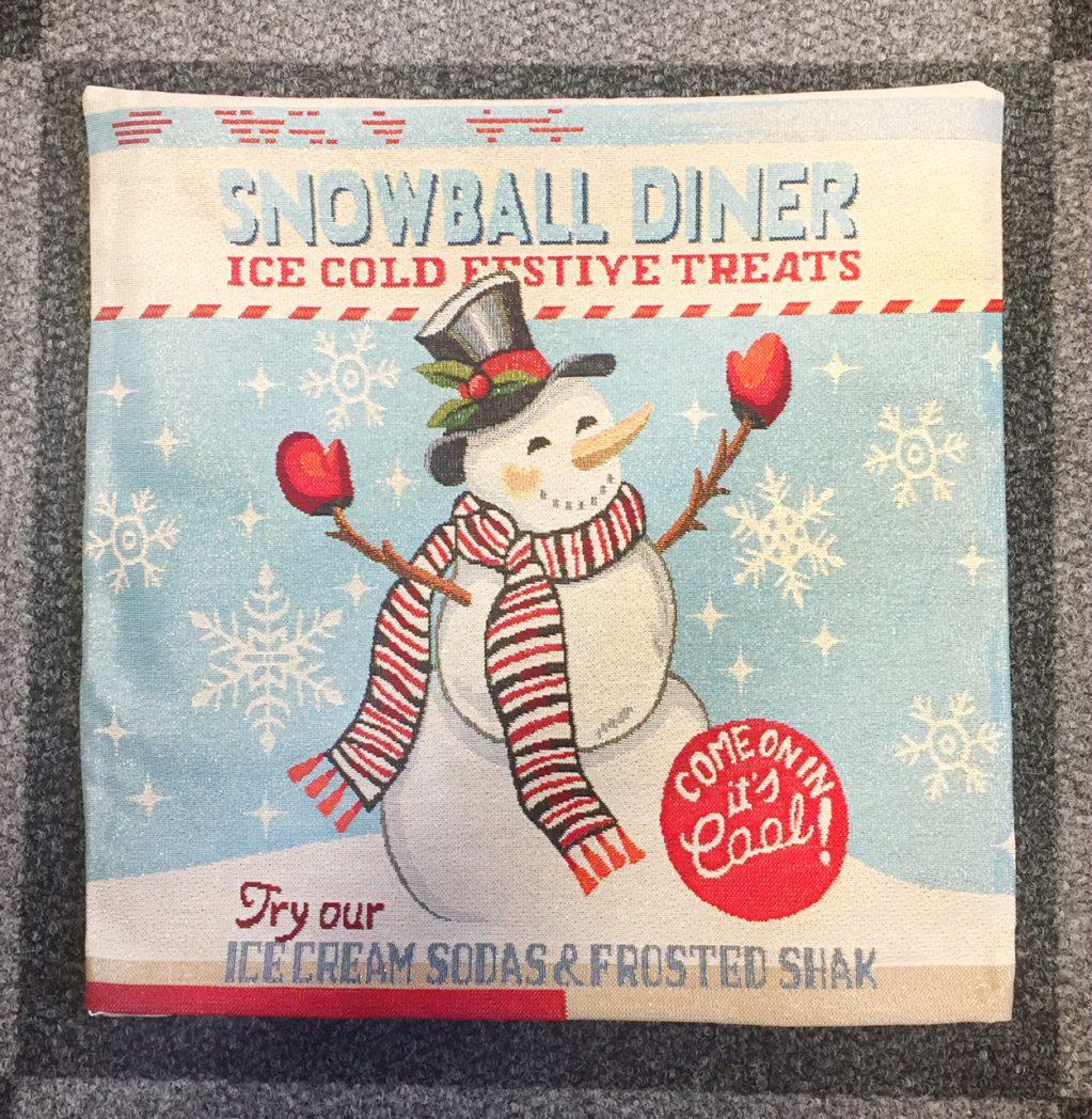 Kussenhoes Kerst Snowball