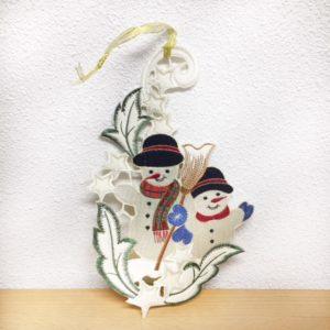 Twee sneeuwpoppen 9439