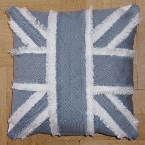 kussenhoes engelse vlag blauw