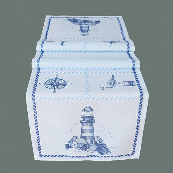 Tafelkleed serie - bedrukt - Maritiem - Vuurtoren