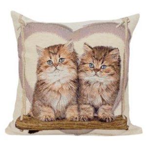 Kussenhoes Kittens in Hart