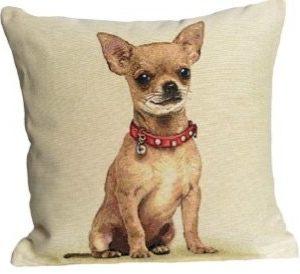 Kussenhoes Chihuahua - Hondje - Hond - Gobelin